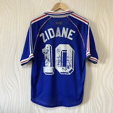 FRANCE 1998 HOME FOOTBALL SHIRT SOCCER JERSEY ADIDAS ZIDANE #10
