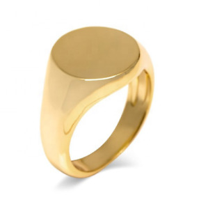 Mens Gold Signet Ring Jewellery