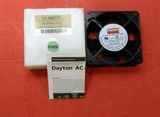 Dayton 6KD75 AC Axial Fan, 117 CFM, 3150 RPM, 115 Volts, 60 Hz 20 Watts.  1B