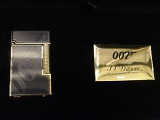 S.T. Dupont Limited Edition 007 Ligne 2 Lighter Black & Gold #1500/1962 (016169)