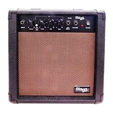 Stagg 10 AA eu Amplificateur pour Guitare Acoustique W Noir