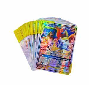 Cartes Pokemon Neuves Françaises Sans Double Vmax GX EX MEGA V Escouade Rares