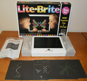 Basic Fun LITE Brite Magic Screen Light Bright Bonus Set 2020