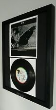 U2 With Or Without You Original Vinyl single-Ltd Edition-Certificate-Bono