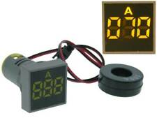 Amp Meter Square AC 0-100A Yellow LED *35173 ME