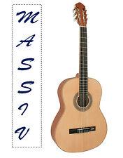 HOCHWERTIE Konzertgitarre - Massiv - 4/4 - Classic, Jose Ribera, HG80 - Mattlack