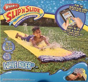 Wham-O Slip'N Slide Wave Rider - Backyard Water Slide - 16 ft. 4.8 M - w/ game