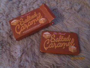 100% Authentic Too Faced Salted Caramel Holiday Mini Palette New In Box !