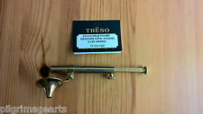 Treso Solid Brass adjustable Powder Measure 0 - 120 grains  funnel MADE IN USA