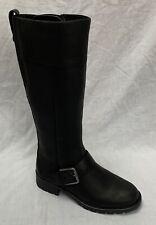 Clarks Black Orinoco Jazz Warmlined Leather BOOTS UK Size 6 Width D