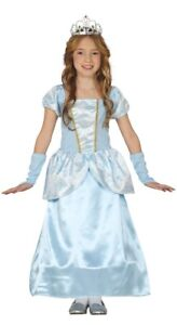 Girls Cinderella Costume Princess Childs Fairytale Fancy Dress Outfit Ages 3-6