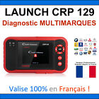 Valise Appareil Diagnostique Pro Multimarque En Français Obd2 Diagnostic CRP 129