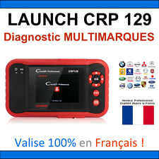 ★ VALISE DIAGNOSTIC ★ LAUNCH CRP129 - Renault Peugeot Mercedes Bmw Audi Golf