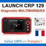 Launch CRP 129 - Valise Diagnostic MULTIMARQUES - Multidiag Autel ELM COM