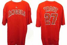 Majestic Mike Trout Los Angeles Angels of Anaheim Red Player T-shirt 6xb