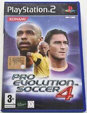 PRO EVOLUTION SOCCER 4 PES PS2 PLAYSTATION 2 ITALIANO SPED GRATIS SU + ACQUISTI