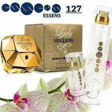 """""""Essens"""" Perfume no.127 inspirado Lady Million-Paco Rabanne 50ml 20% Perfume Nuevo"""