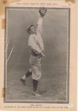 Early 1900's Baseball players from the pages of the National Police Gazette