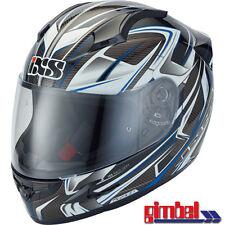 "Ixs Casque Hx 412 "" Talon "" Carbone Kevlar Fibre de Verre Moto TAILLE L (59)"