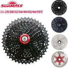 SunRace 8/9/10/11 Speed MTB Road Bike Cassette Freewheel Fit SHIMANO SRAM