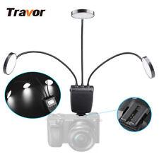 Travor 5500K Macro LED Ring Light Flash for Sony Minolta A77 NEX-7 Camera ML-3E