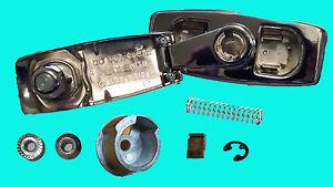 Chrome Rear tailgate window crank handle with clutch fits M1009 CUCV K5 Blazer