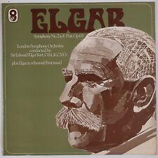 ELGAR: Symphony No. 2 LSO BOULT Rare EMI WRC Vinyl LP UK NM