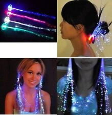 Hair Decoration Colorful Hairpin Party Dance Flash Show Hot RGB LED Clip Braid