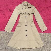 *VGC* Stunning KAREN MILLEN 2 Piece Beige Trench Coat UK Size 8
