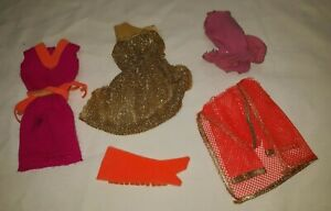 VINTAGE MOD BARBIE FRINGE BENEFITS, MISS BARBIE SUIT & MORE $16.99
