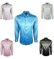 431 Details about  /MENS PAISLEY SHIRT /& TIE FOR WEDDING FORMAL SILK FEEL LONG SLEEVES £22.99