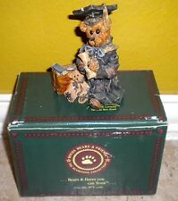 Boyds Bears and Friends Collection Figurine Edmund . the Graduate - Carpe Diem