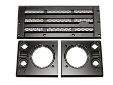 Land Rover Defender - KBX Upgrade Grille & Lamp Surround Kit (Satin Black)