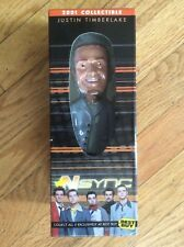 """2001 BEST BUY EXCLUSIVE """"JUSTIN TIMBERLAKE"""" (*NSYNC) BOBBLEHEAD DOLL WITH COA"""