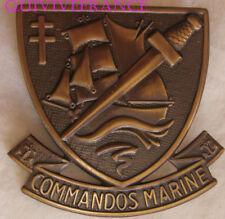 IN9994 - Commandos Marine, insigne de béret, 50 mm, 2 épingles horizontales