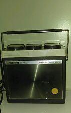New listing Vtg 1970 Realistic Radioshack Push'N Play Am-Fm portable Radio Tested. Rare