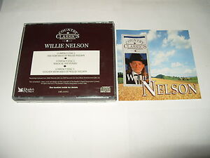 Willie Nelson Country Classics Readers Digest 3 cd 55 tracks 1995 vg/ex    (F7)