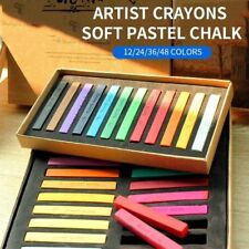 Painting Crayons Soft Pastel Art Drawing Set Chalk Color Crayon Brush Stationery