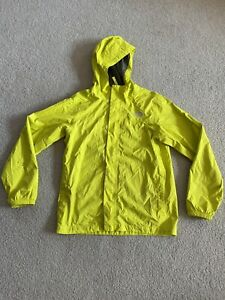 USED! North Face Wind Breaker Jacket Bright Yellow Kids Size L (14/16)  Light