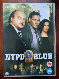 NYPD Season 3 DVD Box Set Classic New York US Cop Series w/ David Caruso