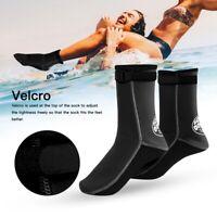 HISEA 3mm Unisex Adult Neoprene Diving Scuba Surfing Swimming Snorkeling Socks