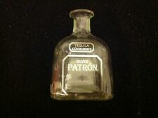 Tequila Silver Patron empty 375 ml Agave Glass Clear Craft Bottle FREE SHIPPING