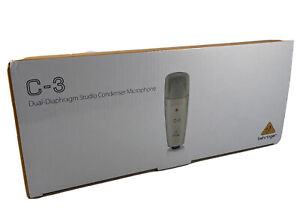 Behringer C-3 Kondensatormikrofon Dual-Diaphragm Doppelmembran Neu Ovp