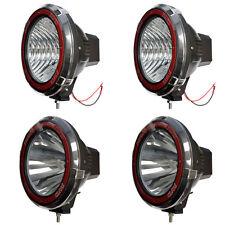 9 Inches 4x4 Off Road 6000k 55w Xenon Hid Fog Lamp Light Floodspot 4pcs