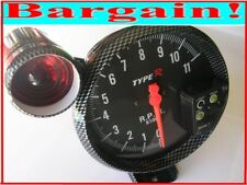 5 INCH CARBON FIBRE RPM TACHOMETER REV GAUGE for MITSUBISHI LANCER EVO 6 7 8 9