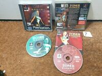 Tomb Raider Bundle 1 2 - Playstation 1 PS1 - N7