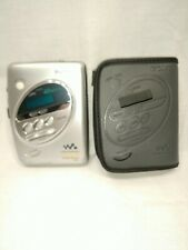 Sony Cassette Walkman Wm-Fx244 With Case Am/Fm Tested Works Great!
