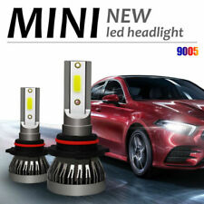 2X 9005 120W 20000LM COB LED Car Headlight Kit Hi/Lo Beam Light Bulb White 6000K