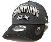 Seattle Seahawks New Era 9FORTY NFC West Champions Adjustable NFL Team Cap Hat