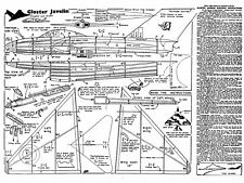 Jetex Gloster Javelin plan with patterns
